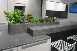 artificial plant display for shop
