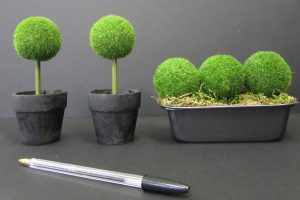 mini topiary for retail display