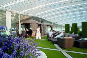 Artificial topiary for cruise ship