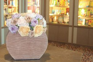 Silk flower displays