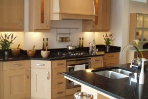 Dressing of show kitchen
